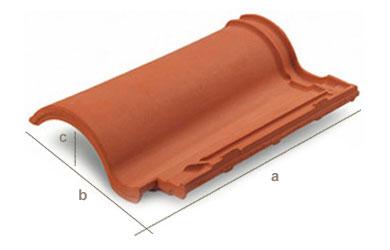 mixed s roof tile