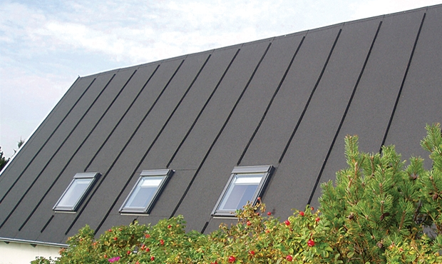 pitched roll roofing